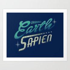 Earth Sapien Art Print