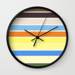 The colors of - to to ro Wall Clock