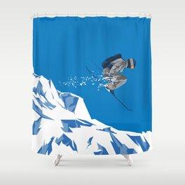 Ski Jump Shower Curtain