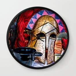 Glory of the heroic age Wall Clock