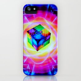 Abstract perfection - Cube iPhone Case