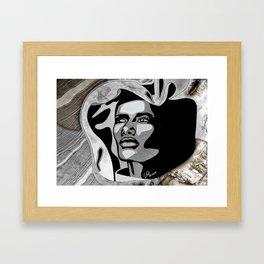 """Grand Dame Grace"" by carographic - Carolyn Mielke Framed Art Print"