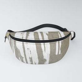 Abstract Taupe Splash Design Fanny Pack