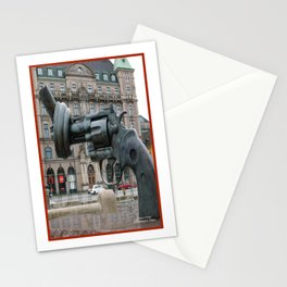 Monument to Nonviolence, Malmo, Sweden Stationery Cards