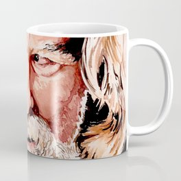 Kurt Russell Watercolor Portrait Coffee Mug