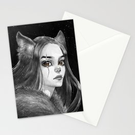 She Wolf Stationery Cards