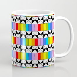 Tribute to mondrian 4- piet,geomtric,geomtrical,abstraction,de  stijl,composition. Coffee Mug