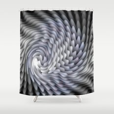 The Flying Light Shower Curtain