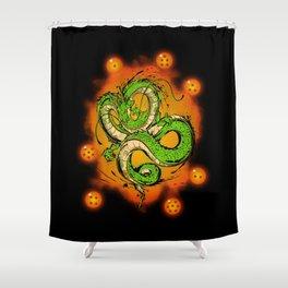 Dragon God Shower Curtain