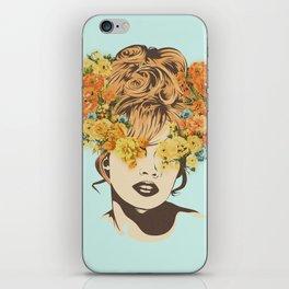 Tropical Lady iPhone Skin