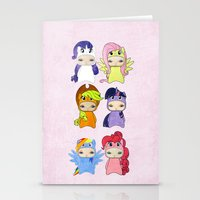 mlp Stationery Cards featuring A Boy - Little Pony by Christophe Chiozzi