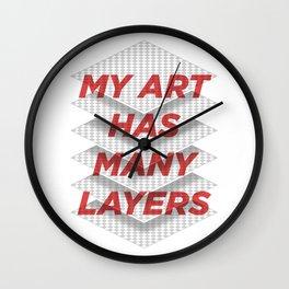 Art Snob Wall Clock