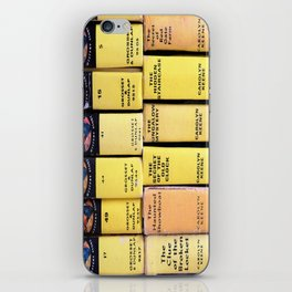 Nancy Drew Vintage Books iPhone Skin