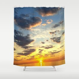Acidic Sunrise - DreamScapes Collection Shower Curtain