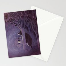 A bear in the forest Stationery Cards