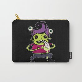 Happy With Purple Elvis Carry-All Pouch