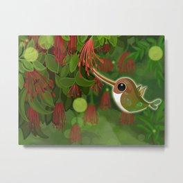 Humming Bird of Patagonia Metal Print