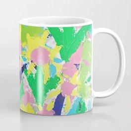 Impressionistic Daisies in the Garden Coffee Mug