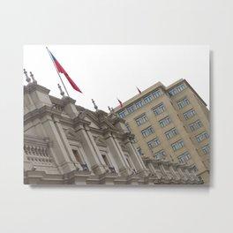 Palacio de la Moneda Metal Print