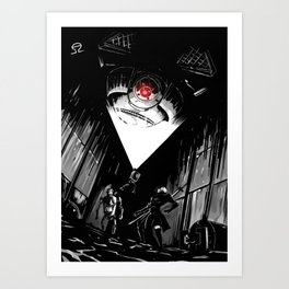 Twisted Religion Art Print