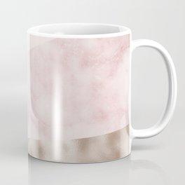 Urban blush marble geo Coffee Mug