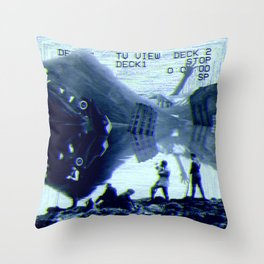 Incumbent Discourse of the Pond Throw Pillow