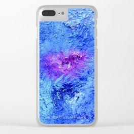 """Ocean Floor"" Painting Clear iPhone Case"