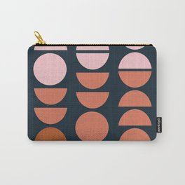 Modern Desert Color Shapes Carry-All Pouch