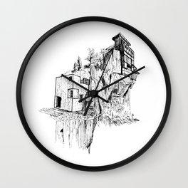 CLIFFHOUSE Wall Clock