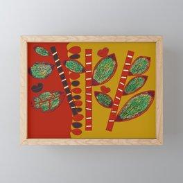 MOROCCAN CACTUS Framed Mini Art Print