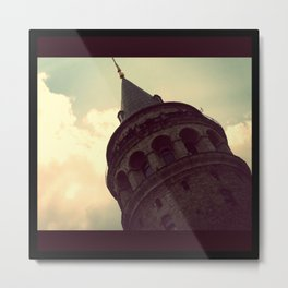 Galata Tower, Istanbul Metal Print