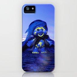 Blue Troll iPhone Case