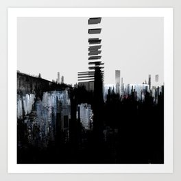 Tokyo in the Ice Age no. 5 Art Print