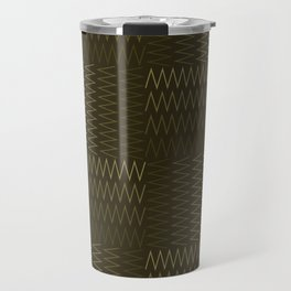 ZigZag with Complementary Color Travel Mug