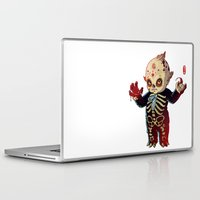 onesie Laptop & iPad Skins featuring Kewpie by Jordan Lewerissa