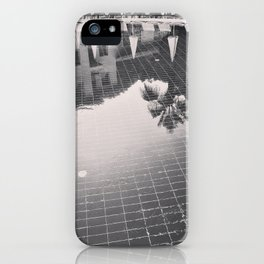 Palm Tree reflection iPhone Case