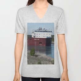 Stewart J Cort in Cut Unisex V-Neck