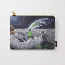 Austronaut in space Carry-All Pouch