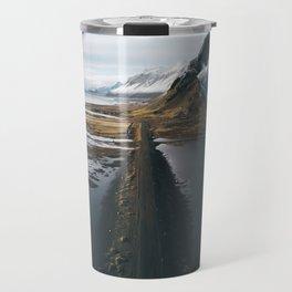 Mountain road in Iceland - Landscape Photography Travel Mug