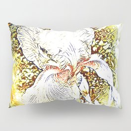 Happy Iris Pillow Sham