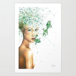 Ximena Art Print