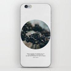 Behind Everyone iPhone & iPod Skin