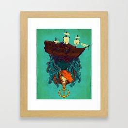 The Bride of Neptune Framed Art Print