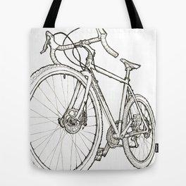 Straggler b/w Tote Bag