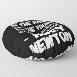 The Revolution of The Young - Huey Newton Floor Pillow