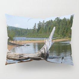 Peacefull Lake in Canada Pillow Sham