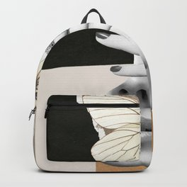 collage art / butterfly 2 Backpack