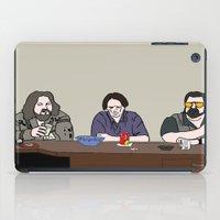 lebowski iPad Cases featuring The Big Lebowski by Josh Ross Illustration