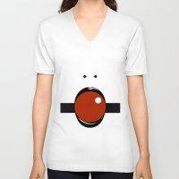 geisha V-neck T-shirts featuring Geisha by D.N.A.