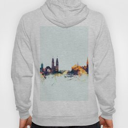 Zurich Switzerland Skyline Hoody